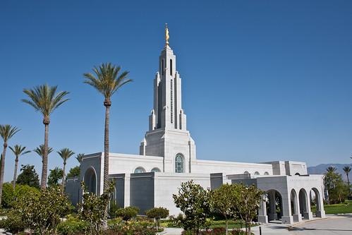 Redlands California Temple | by Aaron Barker