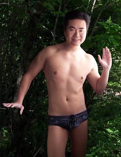 Aussiebum Lowrider Anger swim bikini