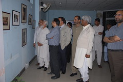 District Nazim Vehari visiting Burewala Photo Exhibition by Dr. Shahid-Burewala Trekkerz (What Next)