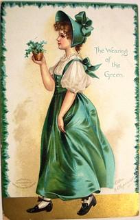 Vintage St. Patrick Postcard | by riptheskull