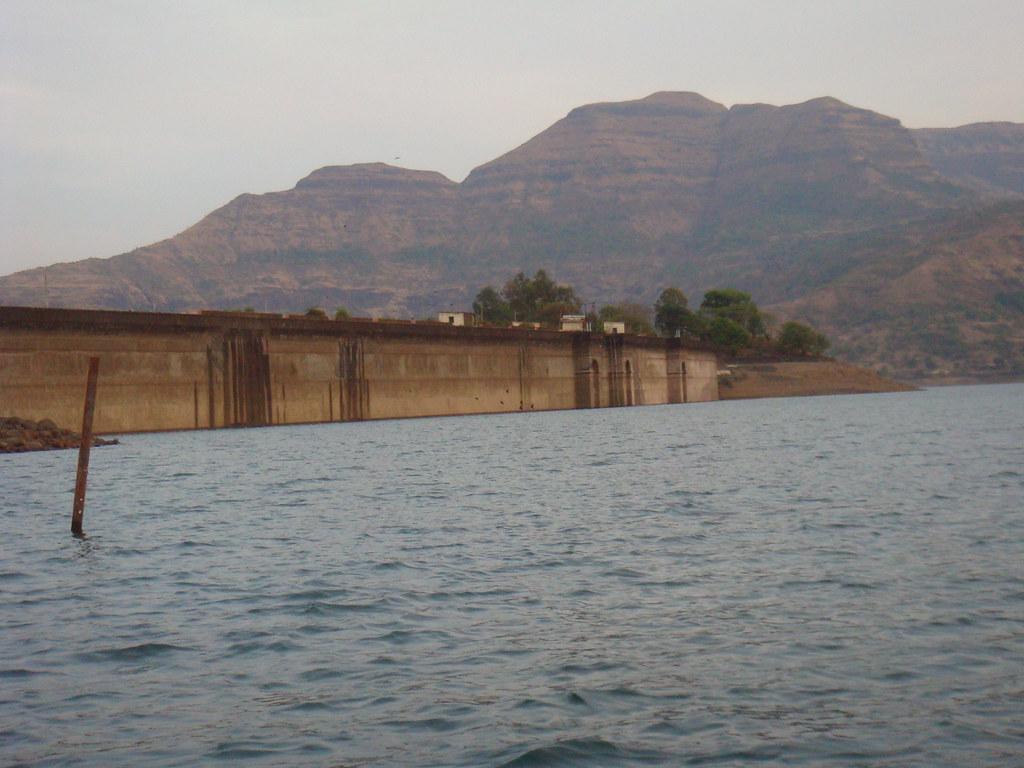 Backside of Wilson dam