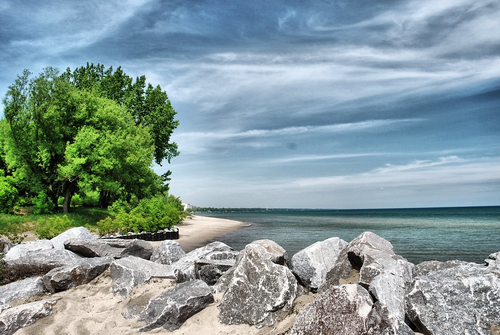 Rocks on the Beach, Gillson Park (Wilmette, IL) | Jim