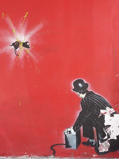 Banksy on Little West 12th Street | by aphrodite-in-nyc
