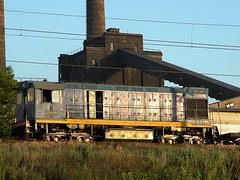 The TGM-6 industrial Diesel-hydraulic locomotive - Промышленный дизель-гидравлический тепловоз ТГМ-6
