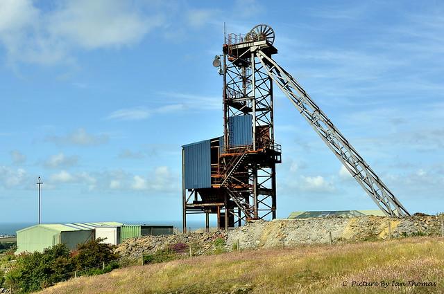 Mining Shaft Winch Near Amlwch On Anglesey