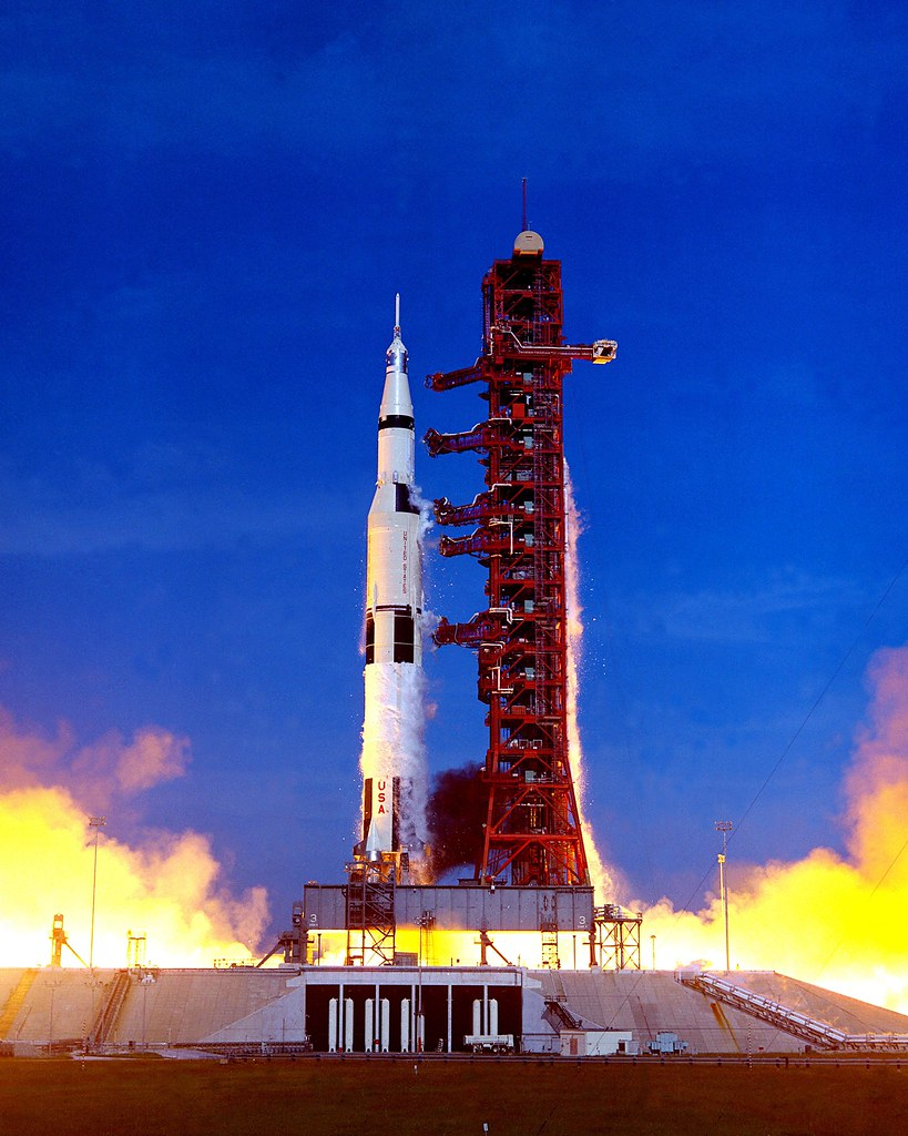 Apollo 15 Launch On July 26 1971 Apollo 15 Launched From Flickr