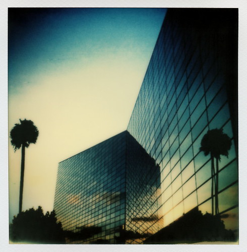 california county ca blue trees sunset toby sky orange color reflection film church glass digital project garden palms print sx70 for photo lab catholic christ cathedral crystal grove mini palm tip cameras type instant mirrored hancock avenue impossible chapman the ipad instagram tobyhancock impossaroid