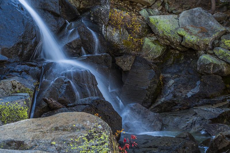 Tioga Pass waterfall