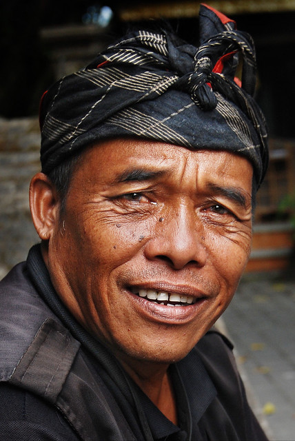 Smile from a Balinese