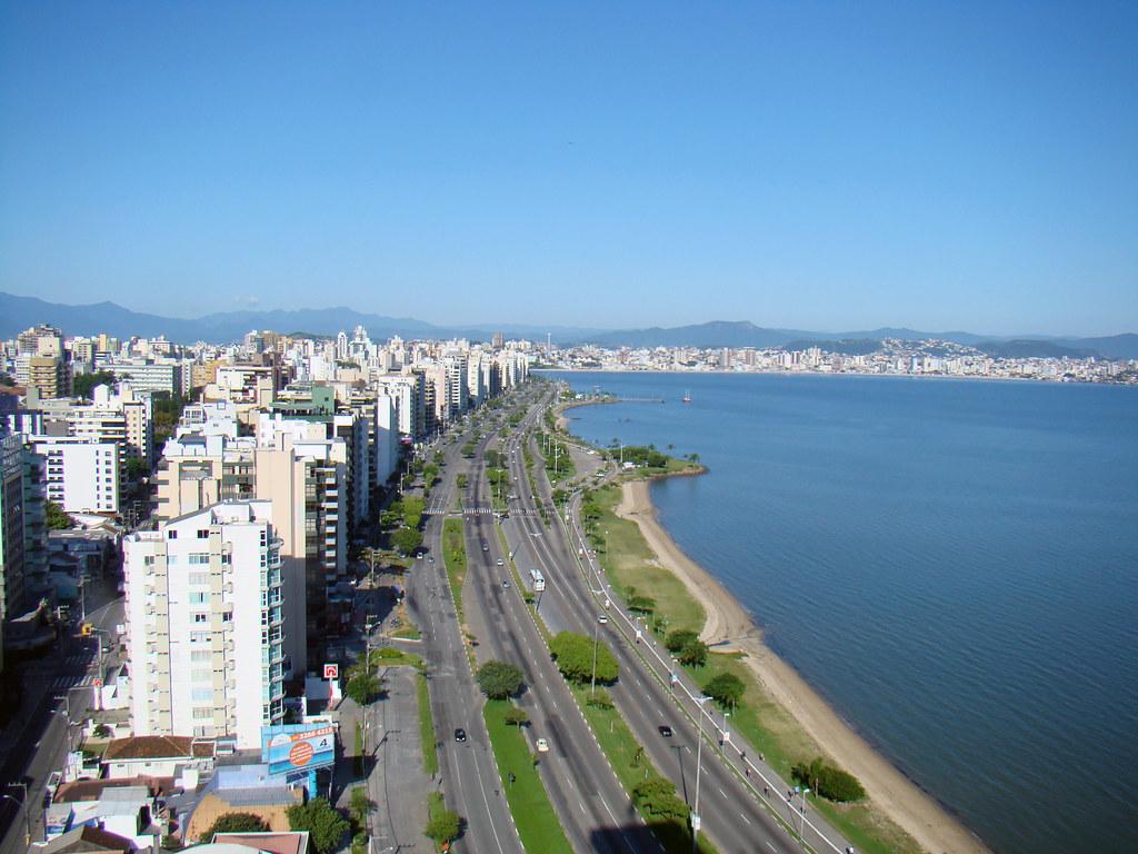 Avenida Beira Mar norte em florianopolis - o que fazer