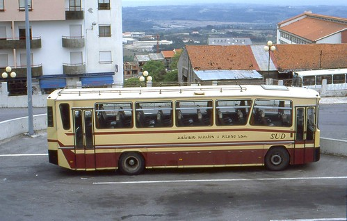 portugal buses april busstation coaches guarda northernportugal aec midengined singledecker utic portuguesebuses amandioparaiso