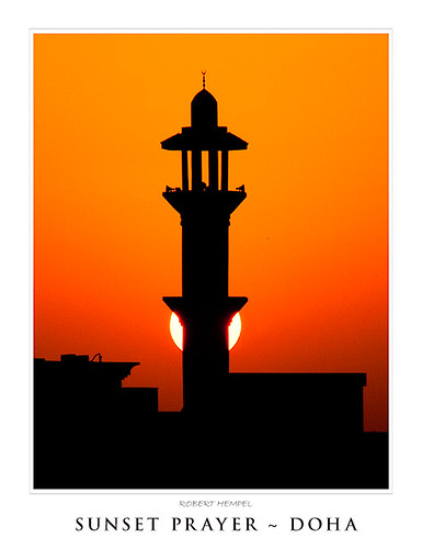 sunset photoshop canon landscape geotagged spring minaret prayer may east 300mm middle friday doha qatar f32 mpf cotcmostfavorited project365 450d mywinners abigfave 5300953109open geo:lat=25352452 geo:lon=51478586 northduhail