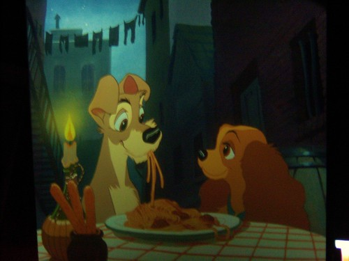 Lady and the Tramp projections at Disney Animation