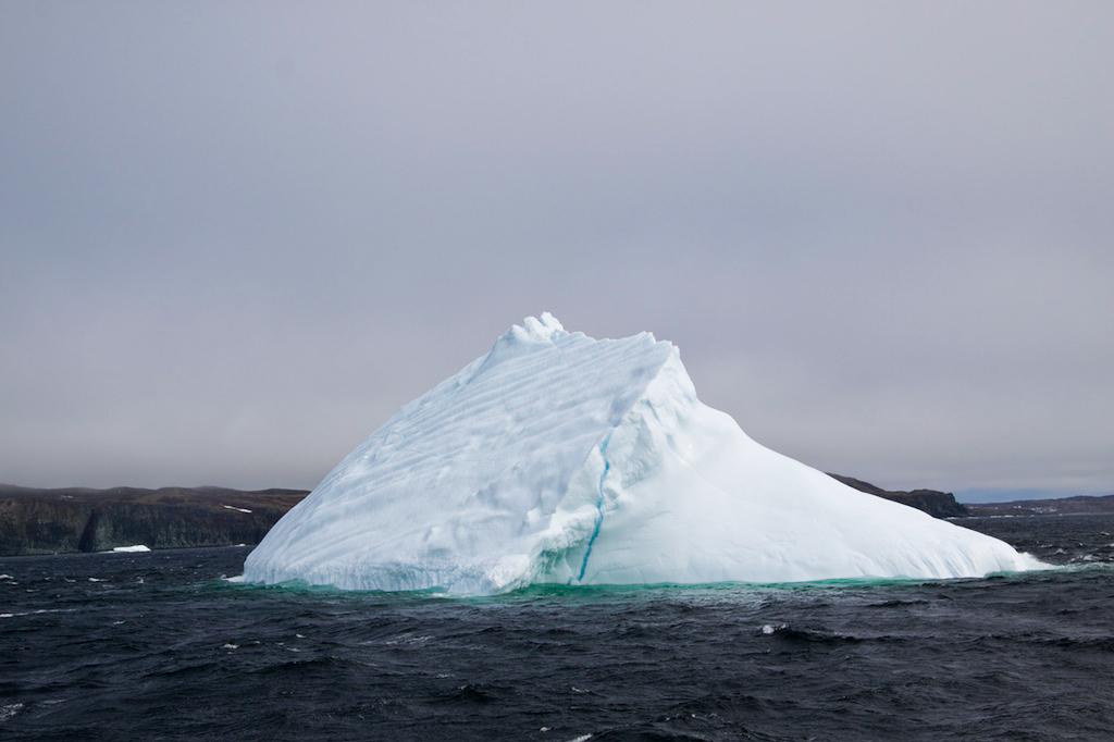 Iceberg in Newfoundland Canada