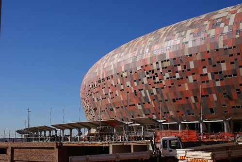 Soccer City - facade | by Shine 2010 - 2010 World Cup good news