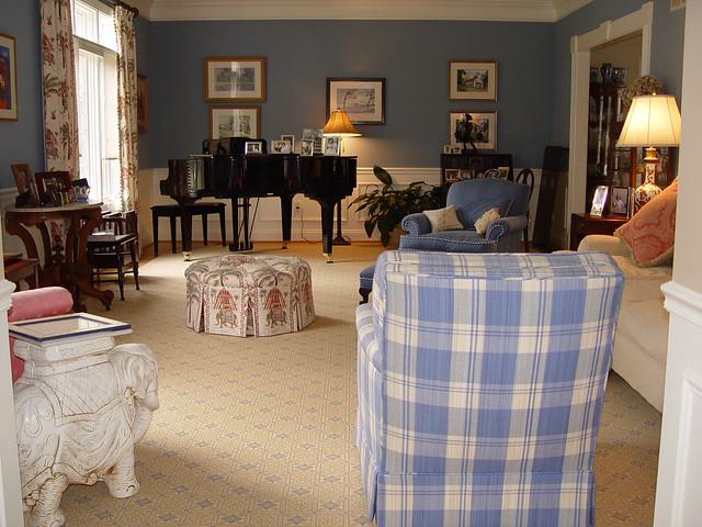 Christopher Barson Interior Associates Project: Washington, DC Living Room