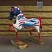 Navy Horse