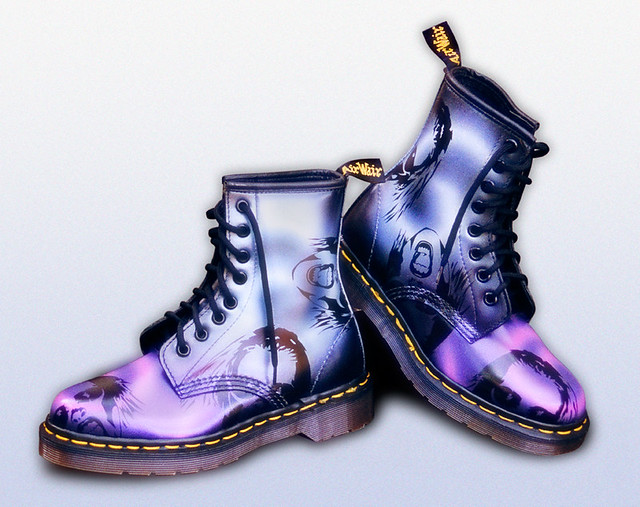 Custom Dr Martens Hologram (AirWair) | These boots were pa