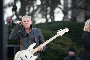 U2 Live at Fordham: Adam Clayton | by wfuv