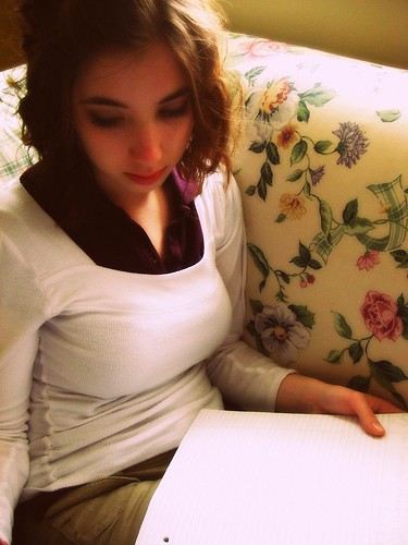 flowers sunshine hair chelsea purple pillow couch curly homework