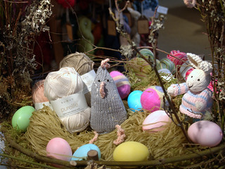 Easter Basket close-up | by Knit Purl