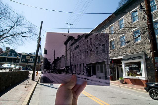 Looking Into the Past: 8010 Main Street, Ellicott City, MD