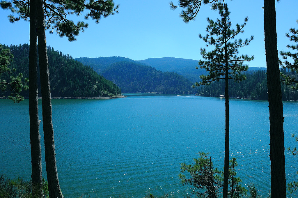 On Black Lake Coeur Dalene By Phils Pixels Large