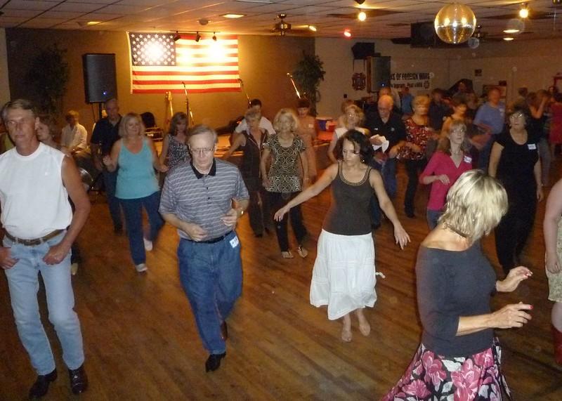 american dance room