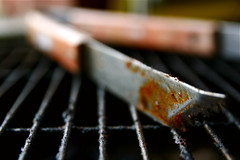 Grill Tongs 6-1-09 3 | by stevendepolo