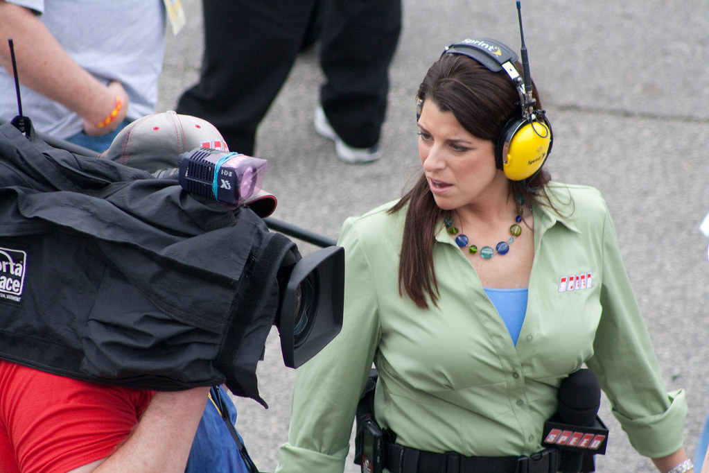 Speed Channel's Wendy Venturini