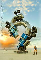Burning Man 2007 Big Rig Jig by Mike Ross burningman 07