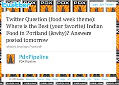 Portland Twitter Question- Best Indian Food | by PDX Pipeline