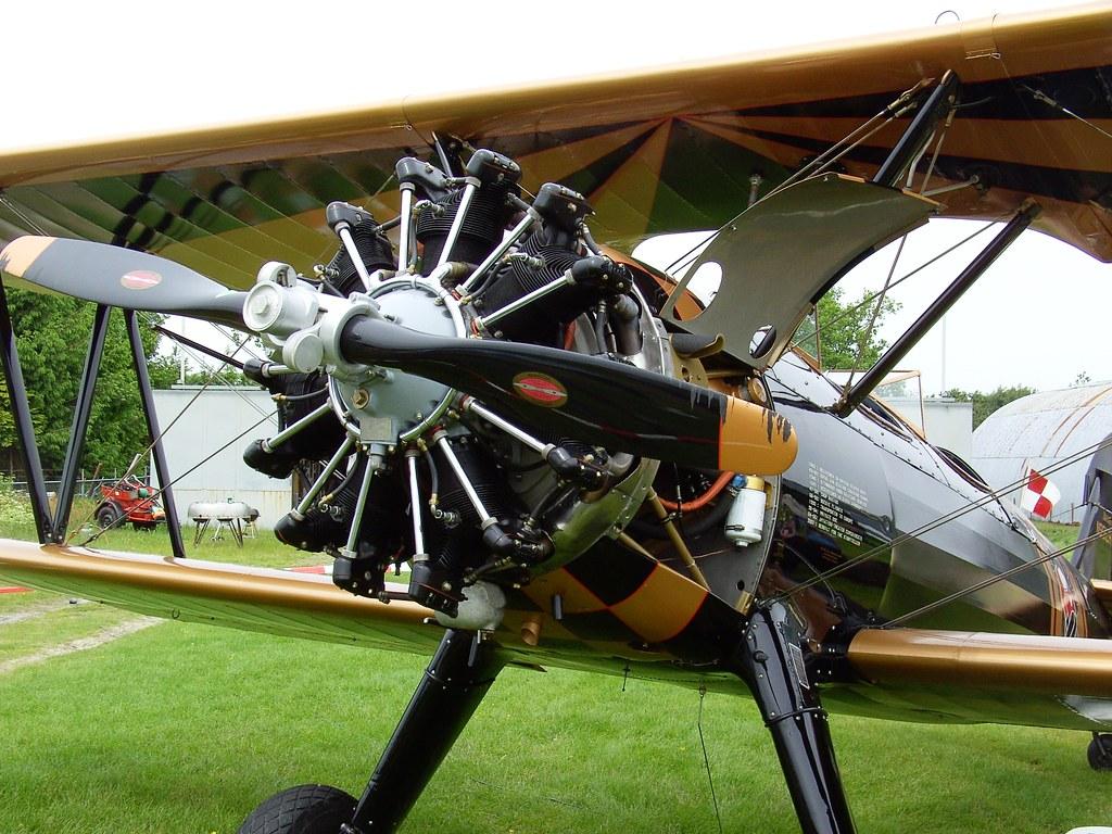 Boeing-Stearman Model 75 'Kaydet' twoseater biplane   Flickr