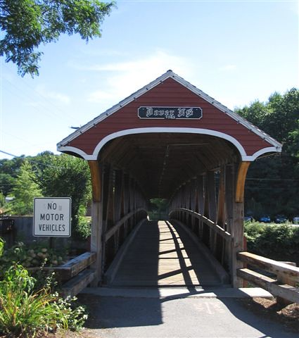 Cocheco Covered Bridge, Dover NH | this bridge was built in