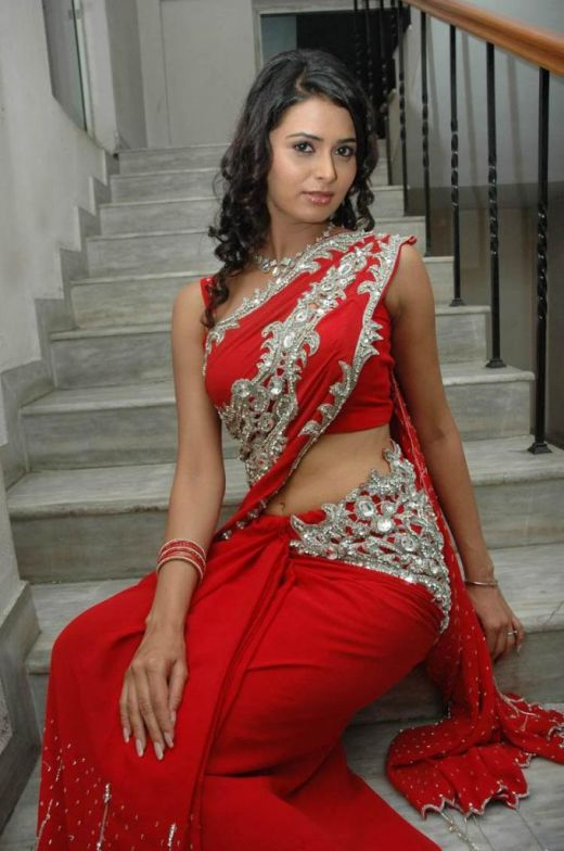 Hot Indian Woman In Red Saree A Photo On Flickriver