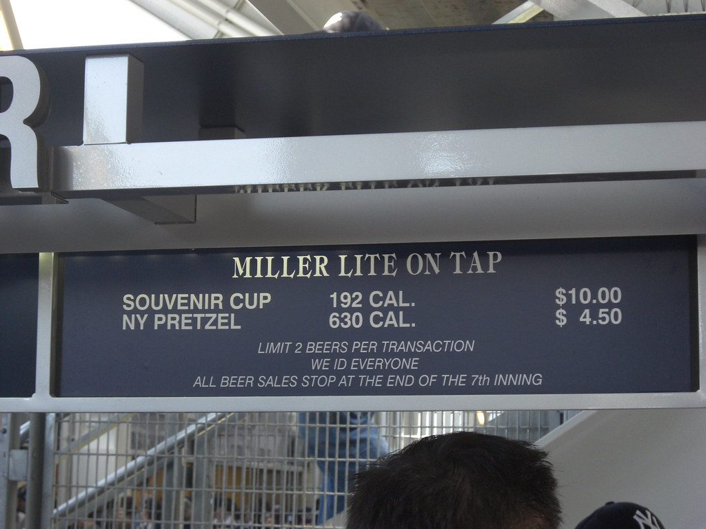 I would rather have 3 big beers for less calories than one pretzel