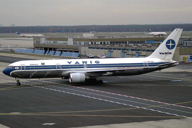 Varig Boeing 767-341(ER) PP-VOL FRA 23-11-03