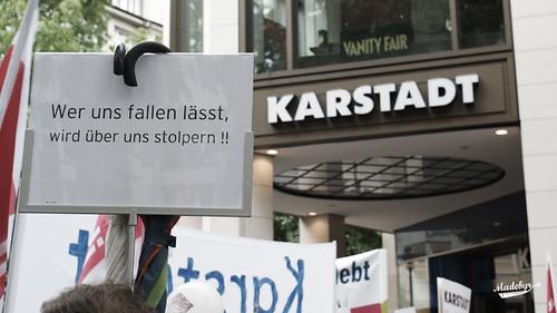 KARSTADT kämpft | Demonstration der Karstadt und
