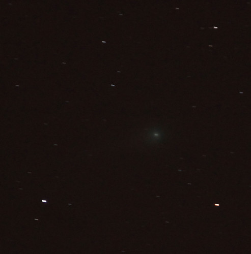 Comet Lulin 100% crop Feb. 25 2009 | by Mike Black photography
