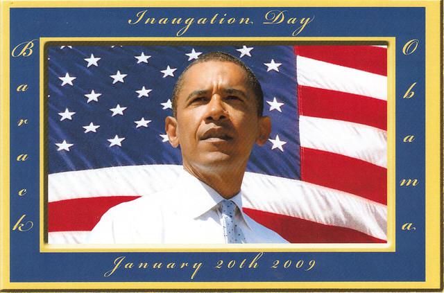 President Obama Inaugation Day Postcard