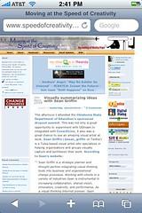Wordpress blog without WordPress Mobile 3.0 - See my post ...