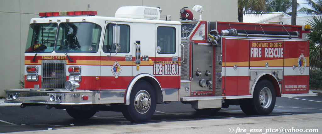 BSO Fire Rescue | (OLD) Engine 36 (Lauderdale-by-the-Sea/Sea