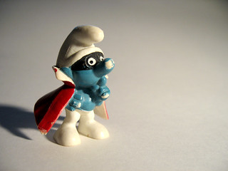 Spy Smurf. Now back in active service. | by Trevor Coultart