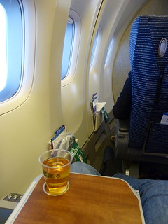 Chilling in seat 2A | by kalleboo