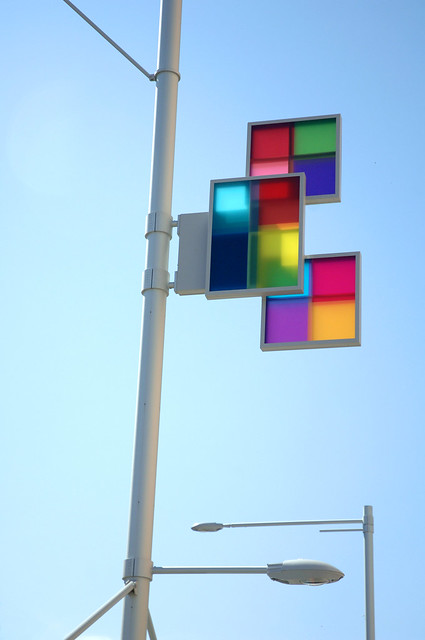 glass squares, Canberra
