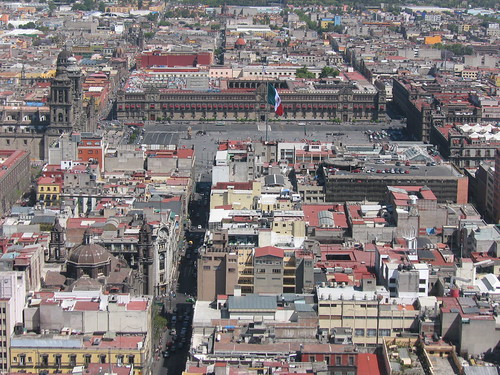 Zócalo - View from Torre Latinoamericana | by tjdee