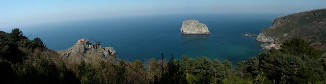 Panoramica San Juan de Gaztelugatze