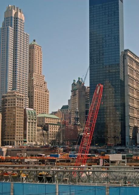 WTC Site Construction