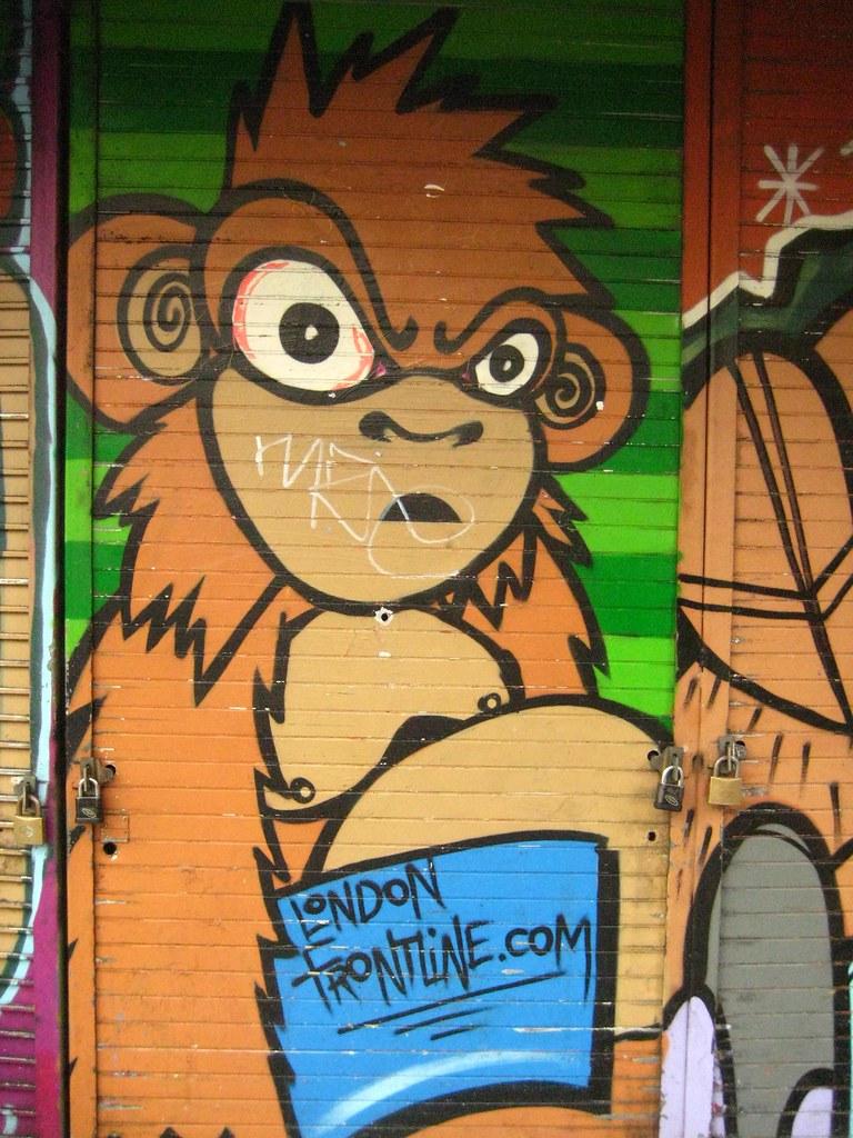 The London Frontline Monkey