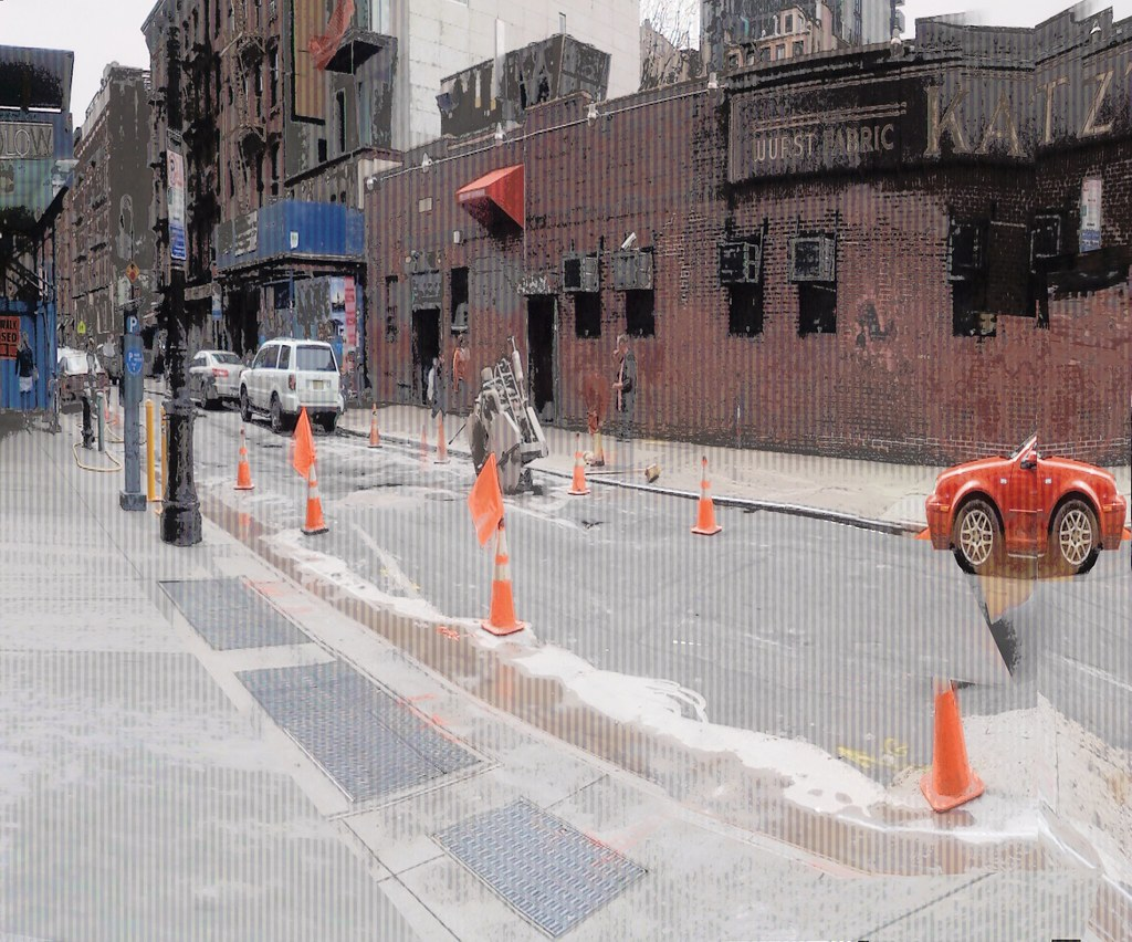 Ludlow Street - zoom pano   Camera Zoom iPhone app from Kend